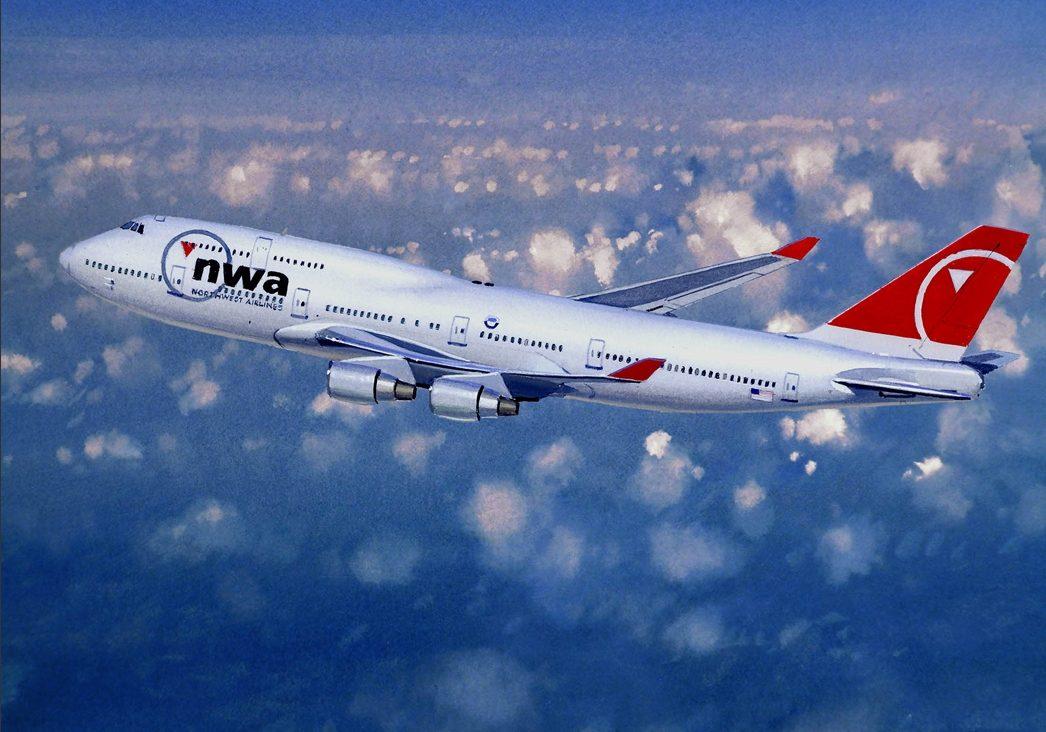Northwest Airlines Boeing 747-451