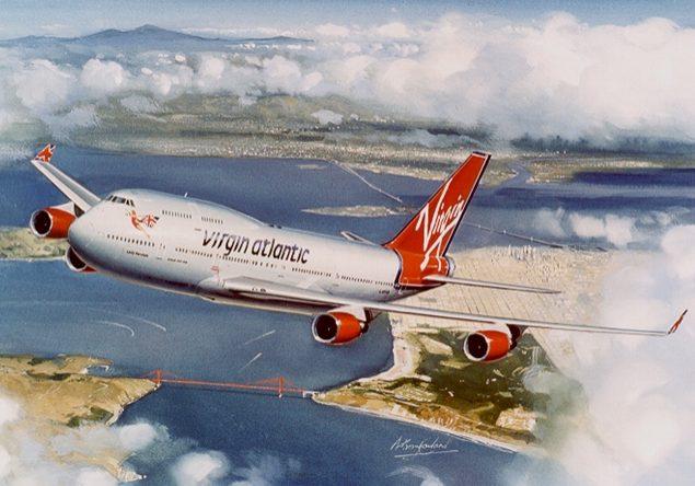 Virgin Atlantic - Lady Penelope